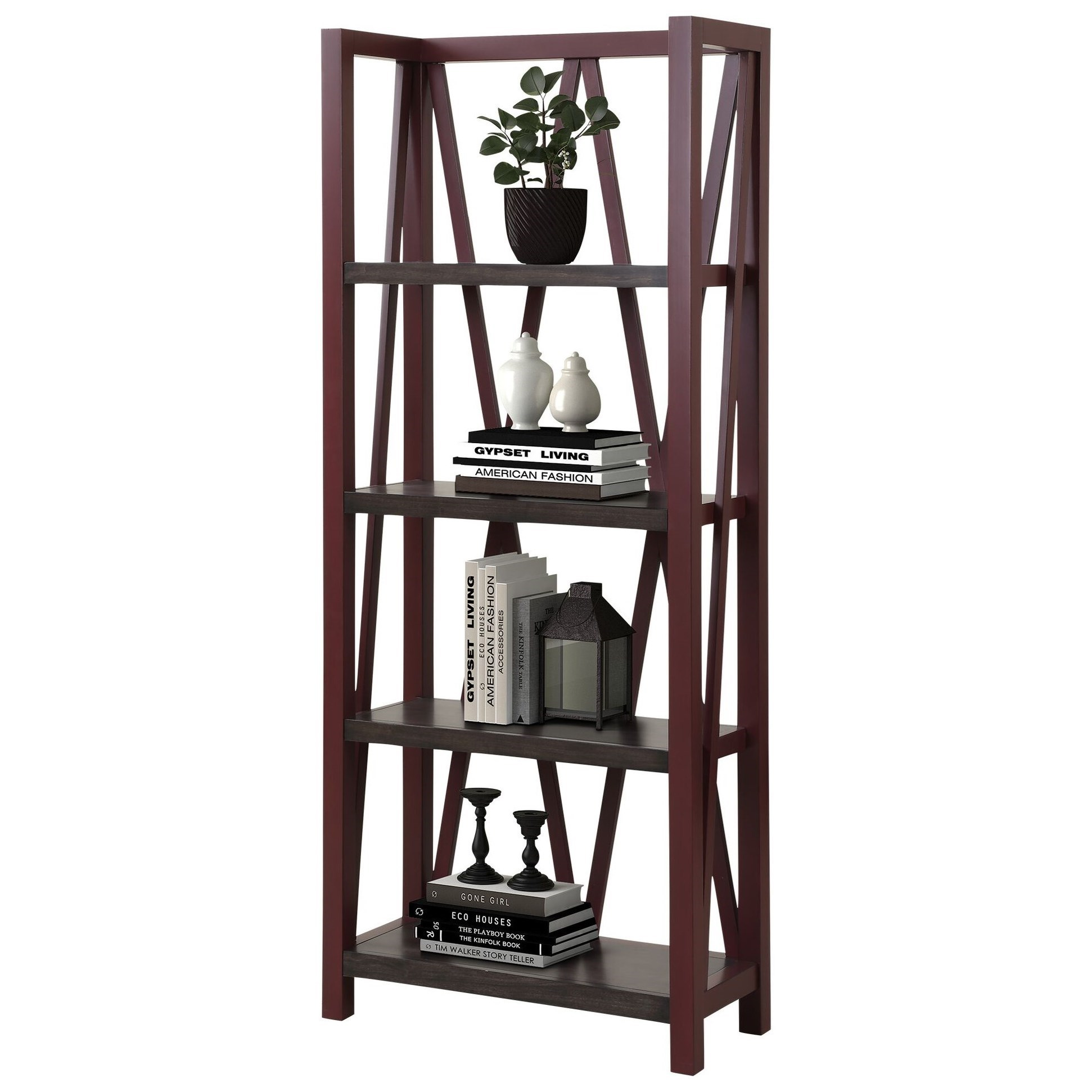 Americana Modern Etagere Bookcase by Parker House at Pilgrim Furniture City