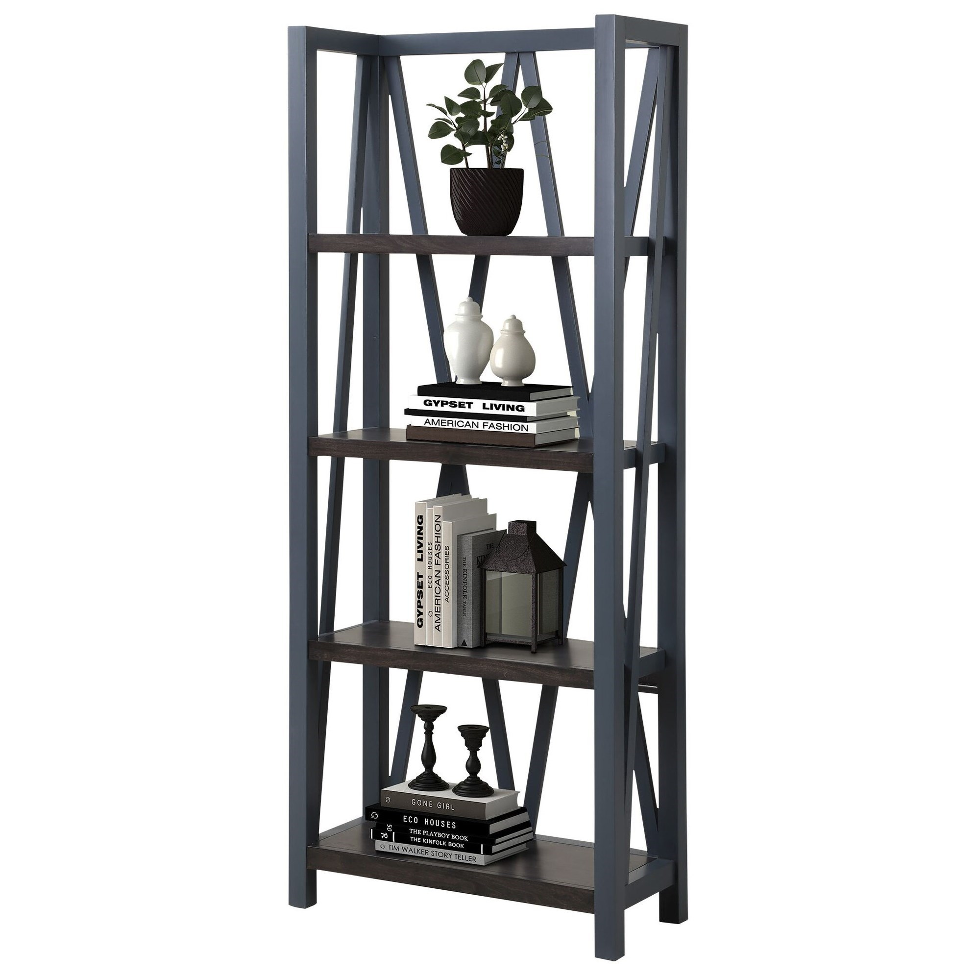 Americana Modern Etagere Bookcase by Parker House at Simply Home by Lindy's