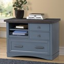 Parker House Americana Modern Functional File w/ Power Center - Item Number: AME-342F-DEN