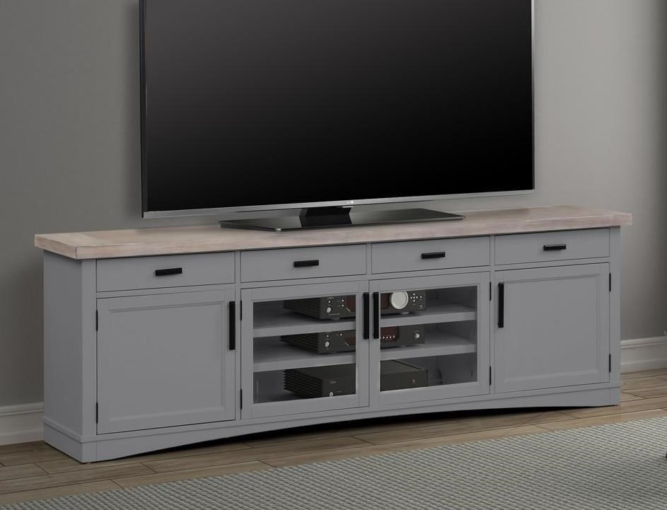 "92"" TV Console with Power Center"