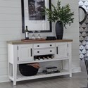 Paramount Furniture Americana Modern Sideboard - Item Number: DAME-54SB-COT
