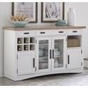 Paramount Furniture Americana Modern Buffet Server - Item Number: DAME-66B-COT