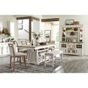 Paramount Furniture Americana Modern Formal Dining Room Group - Item Number: DAME Dining Room Group 10