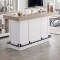 Paramount Furniture Americana Modern Bar - Item Number: DAME-78BAR-2-COT