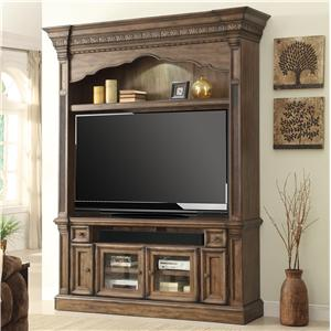 Parker House Aria Library 2 Piece Entertainment Center