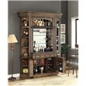 Parker House Aria Library Bar Base Hutch with 2 Doors and 2 Drawers and 3 Shelves