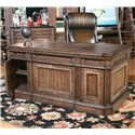 Parker House Aria Library Double Pedestal Desk - Item Number: ARI 480-3
