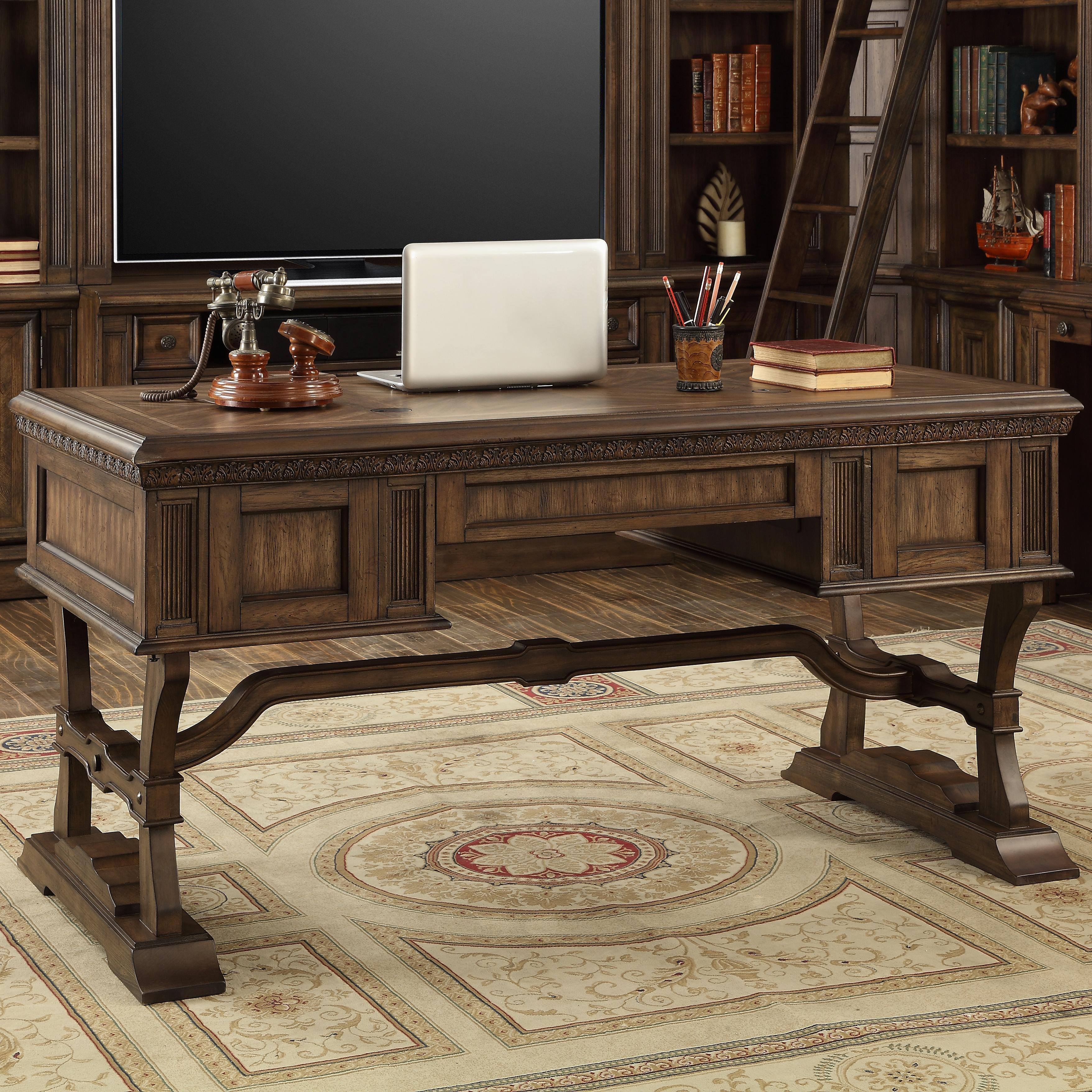 Parker House Aria Library Writing Desk   Item Number: ARI 485