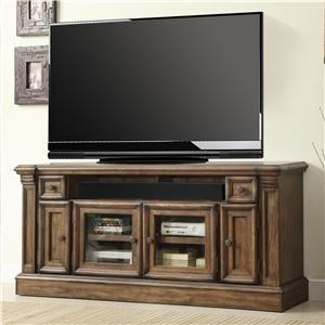 "Parker House Aria Library 67 3/8"" TV Console with Power Center"