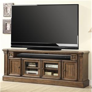 "Parker House Aria Library 79 3/8"" TV Console with Power Center"