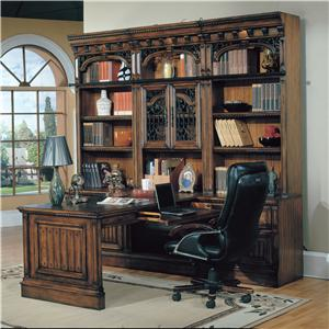 Parker House Barcelona 7 Piece Desk Group