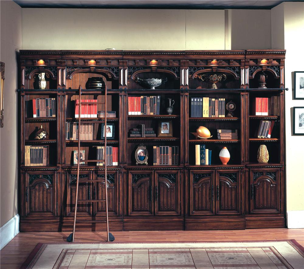 Parker House Barcelona Wall Bookcase - Item Number: Bar-BW