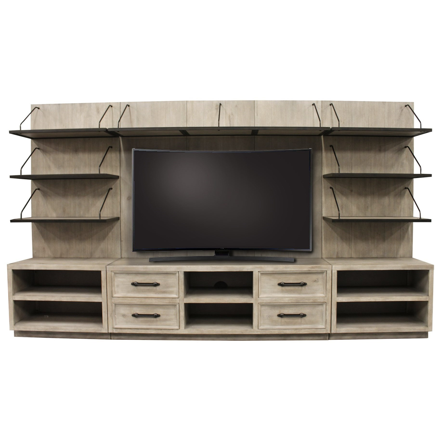 Billboard Entertainment Wall Unit by Parker House at Zak's Home