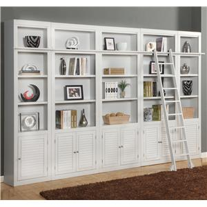 Parker House Boca Expanded Library Wall Unit