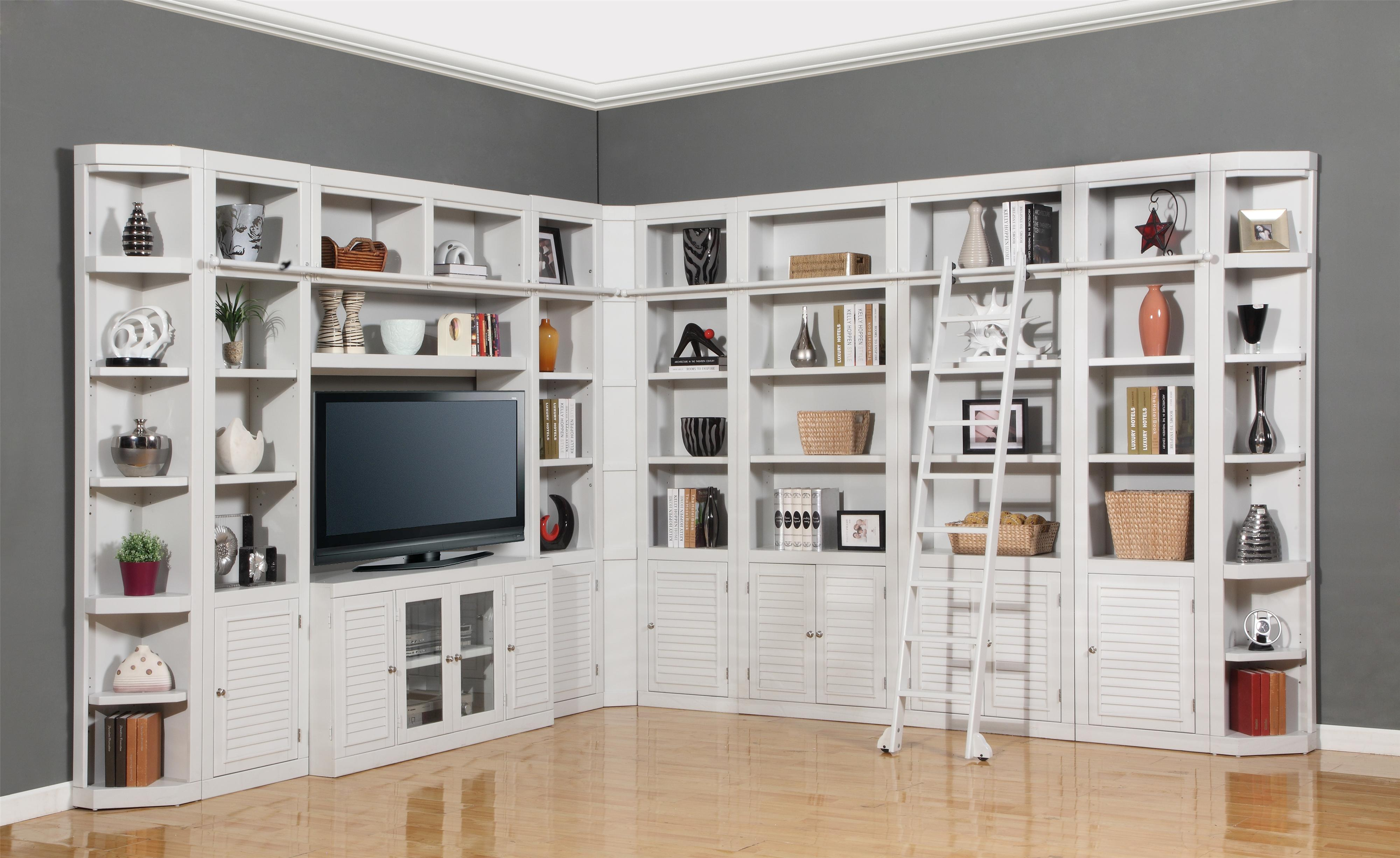 Parker House Boca Eleven Piece Deluxe Entertainment Center Two Wall Unit