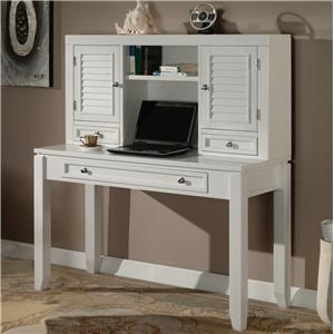 Parker House Boca Five Piece U Shaped Desk With 5 Drawers