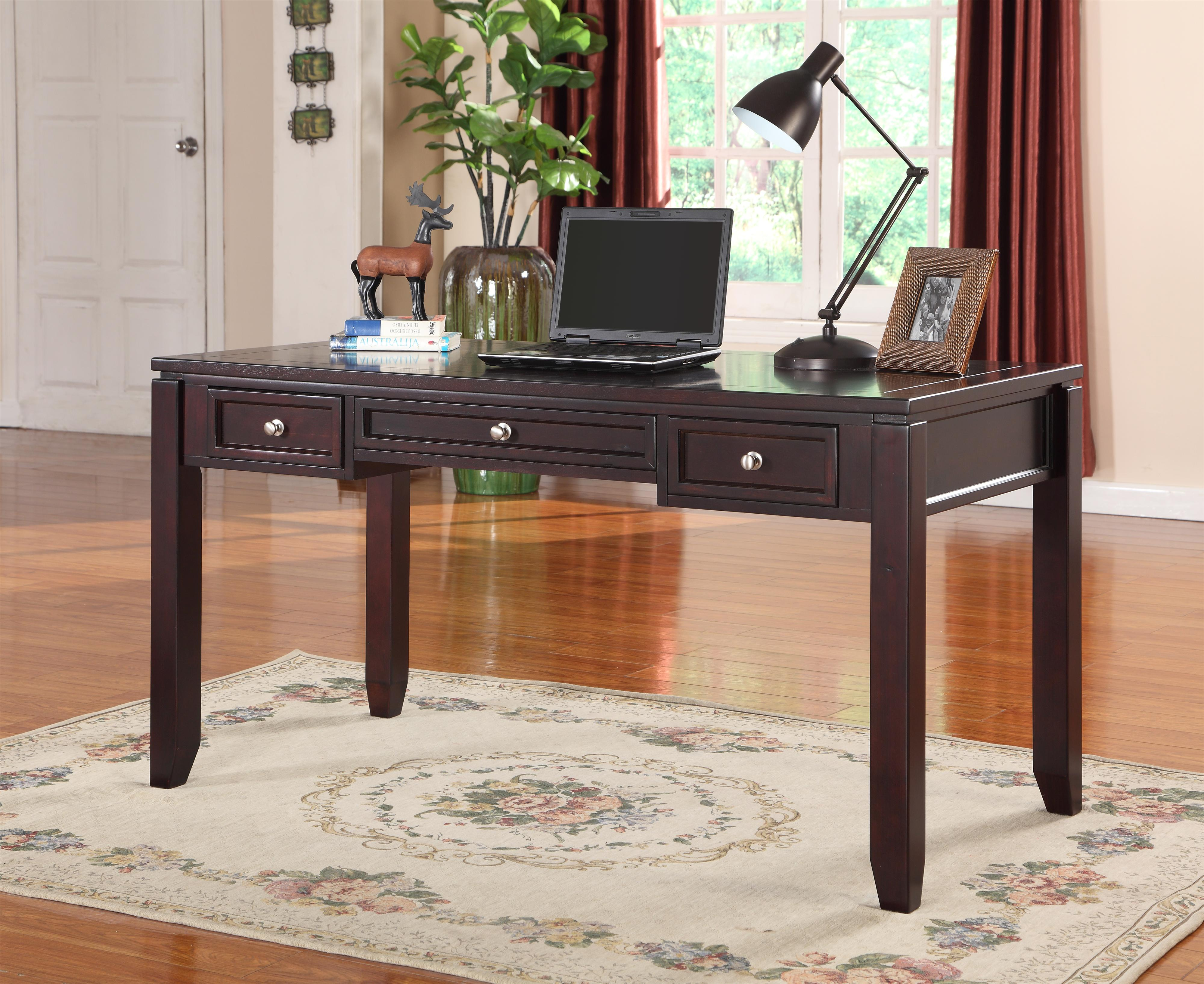 "Parker House Boston 57"" Writing Desk - Item Number: BOS-357D"