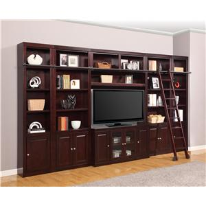 Six-Piece Entertainment Center Bookcase
