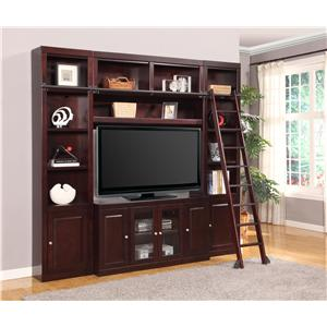 Four-Piece Wall Unit