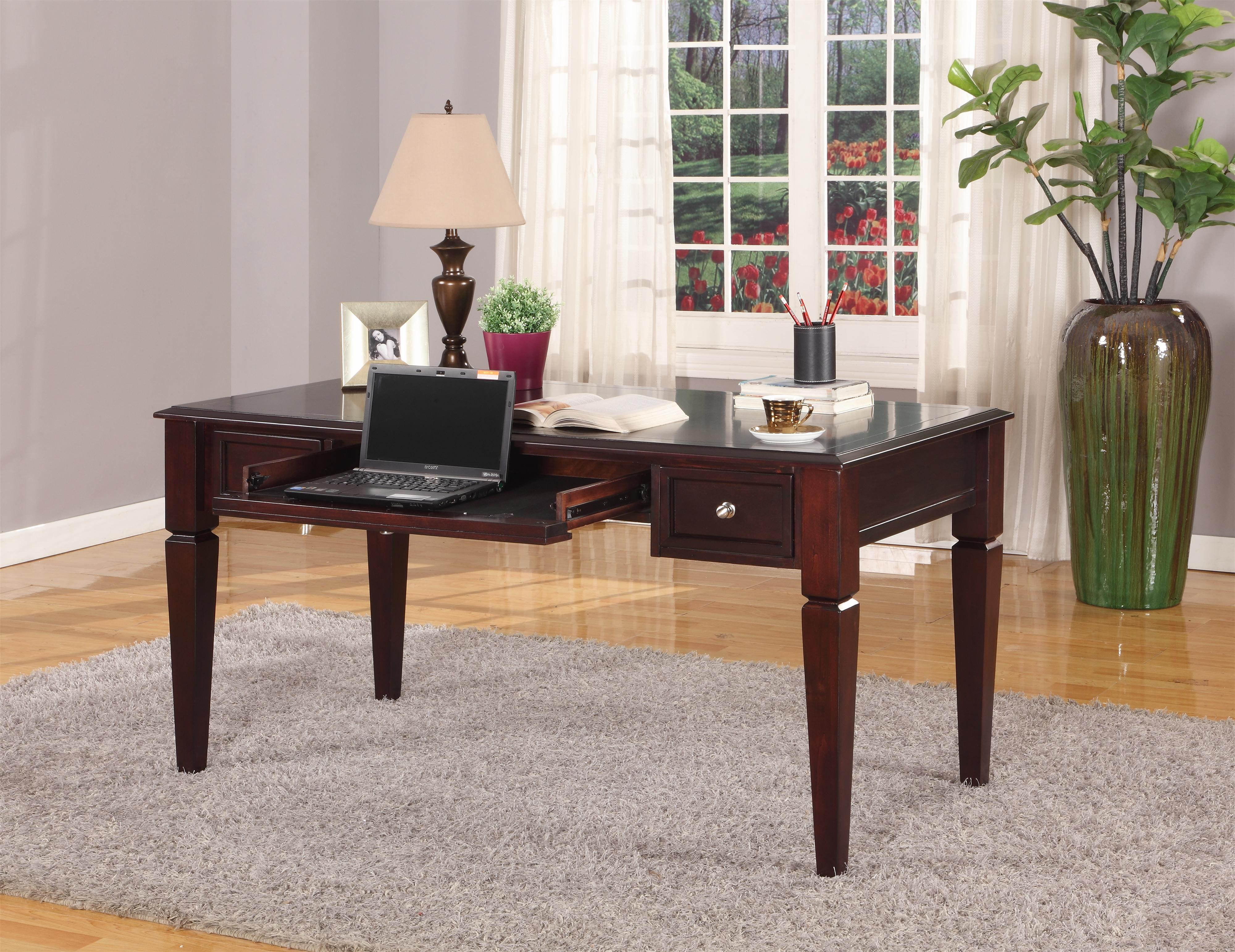 "Parker House Boston 60"" Writing Desk - Item Number: BOS-485"
