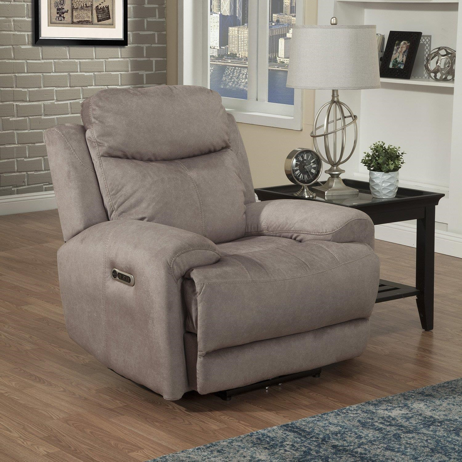 Bowie Power Recliner and Headrest W/ USB by Parker House at Johnny Janosik