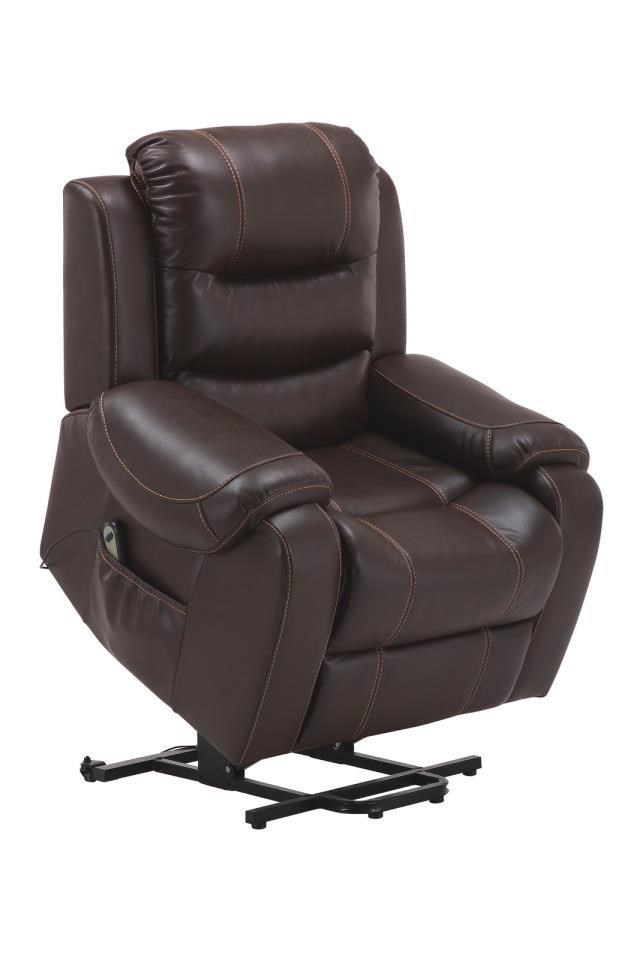 Parker House Brahms Mah Reclining Lift Chair - Item Number: Brahms Mah