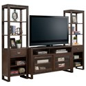 "Parker House Brooklyn 60"" TV Console with Piers - Item Number: BRO-60-3"