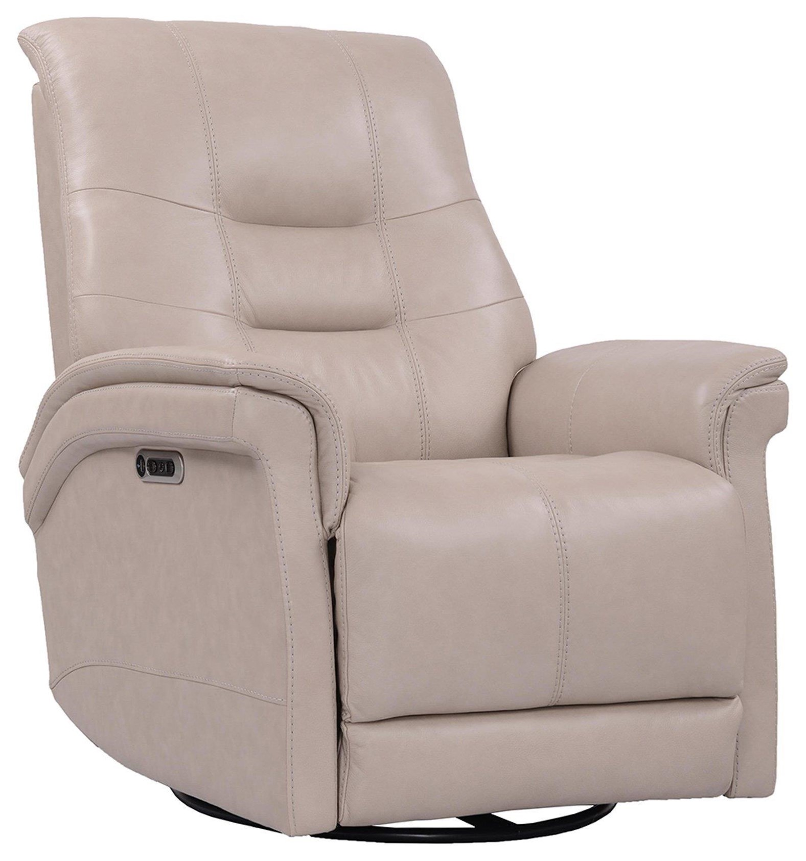 CARNEGIE Power Cordless Swivel Glider Recliner by Parker House at Johnny Janosik