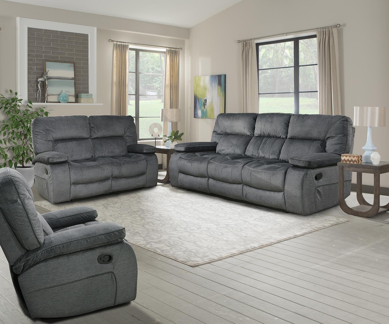 chapman Triple reclining sofa by Parker House at Johnny Janosik