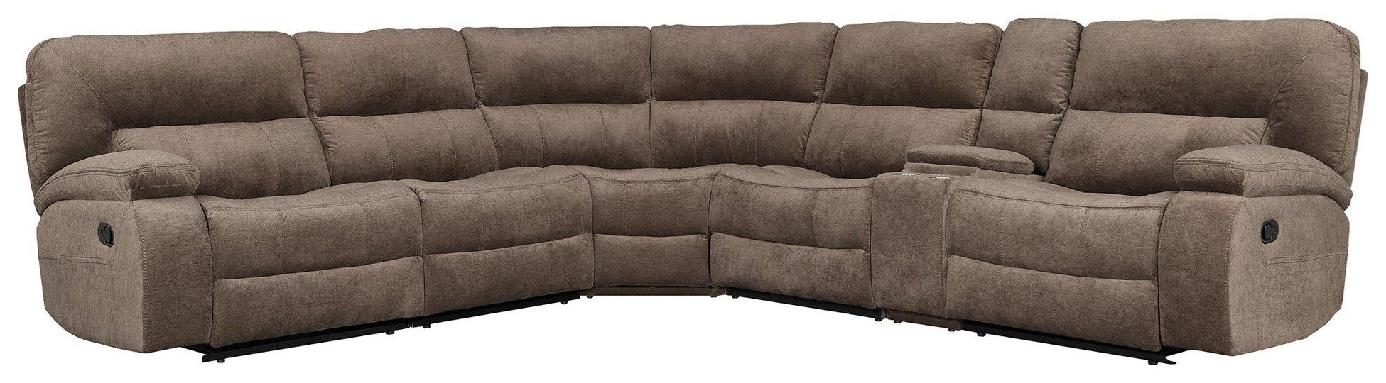 chapman SIX PIECE SECTIONAL by Parker House at Johnny Janosik
