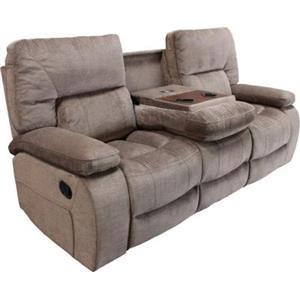 Manual Dual Reclining Sofa with drop down co