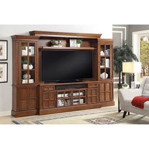 Parker Scott Hathaway 4 Piece Entertainment Wall
