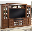 Parker House Churchill 4 Piece Entertainment Wall with 72