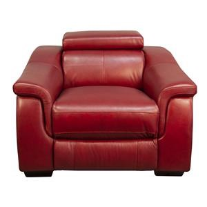 Colton Leather Match Power Recliner