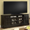 """Parker House Concord 72"""" TV Console - Item Number: CON-72"""