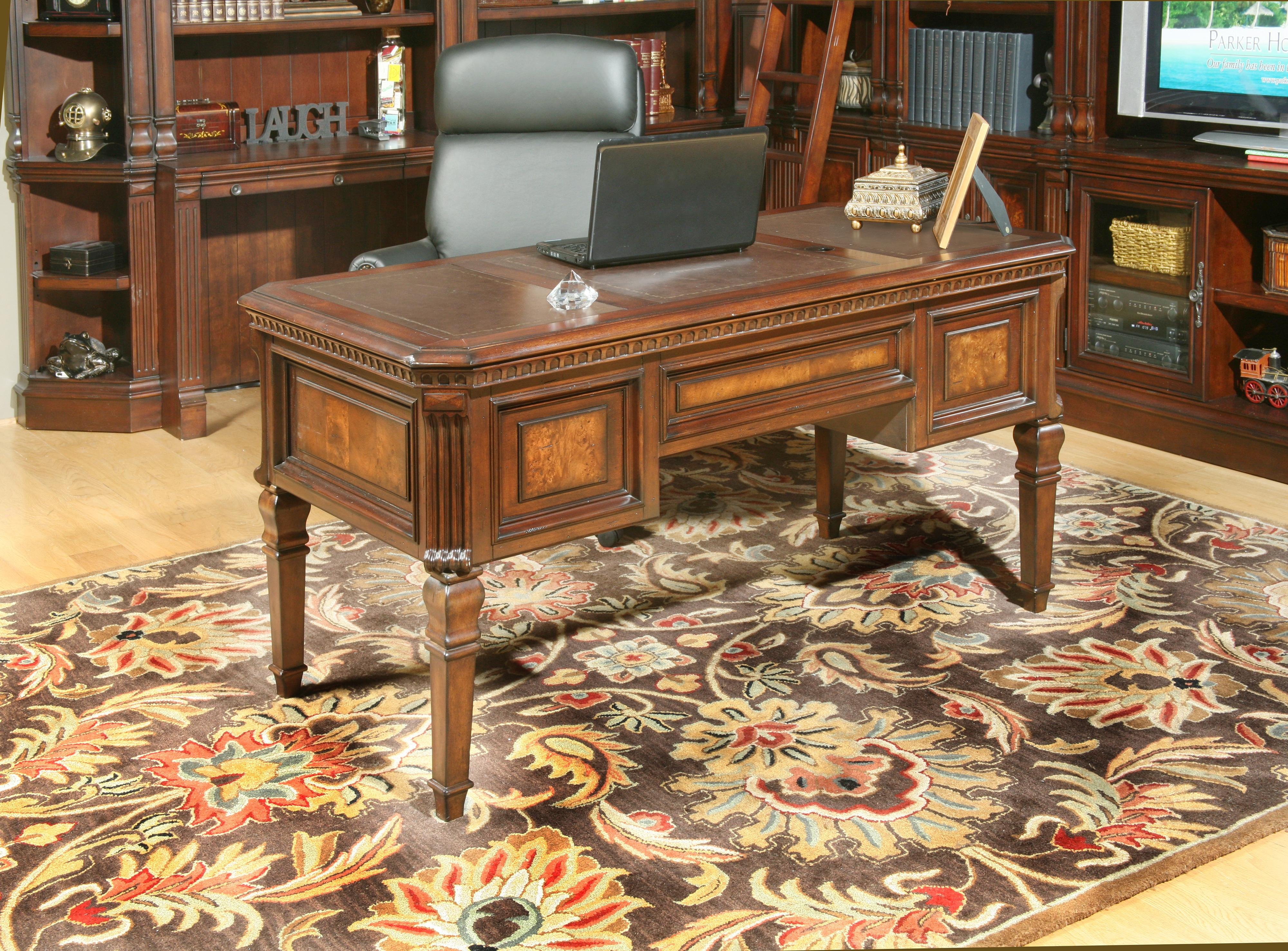 Parker House Corsica Cor 485 Writing Desk With Drop Down