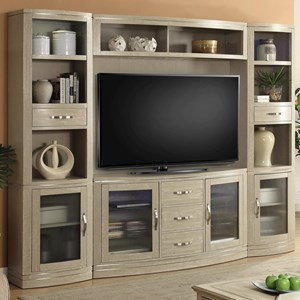 Parker House Cosmopolitan 4 Piece Entertainment Wall