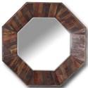 Paramount Furniture Crossings The Underground Wall Mirror - Item Number: UND-M45