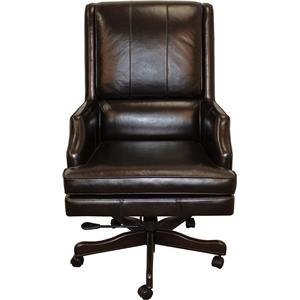 Morris Home Furnishings Easton Easton Leather Desk Chair