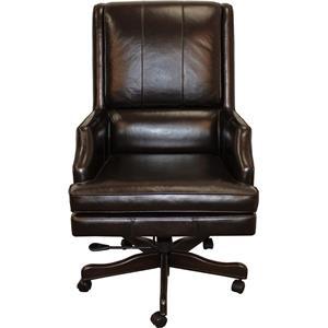 Easton Leather Desk Chair