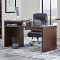 Paramount Furniture Elevation 66 in. Writing Desk - Item Number: ELE-366D-WELM