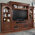 Parker House Franklin 4 Piece Entertainment Wall - Item Number: FRA-100-4