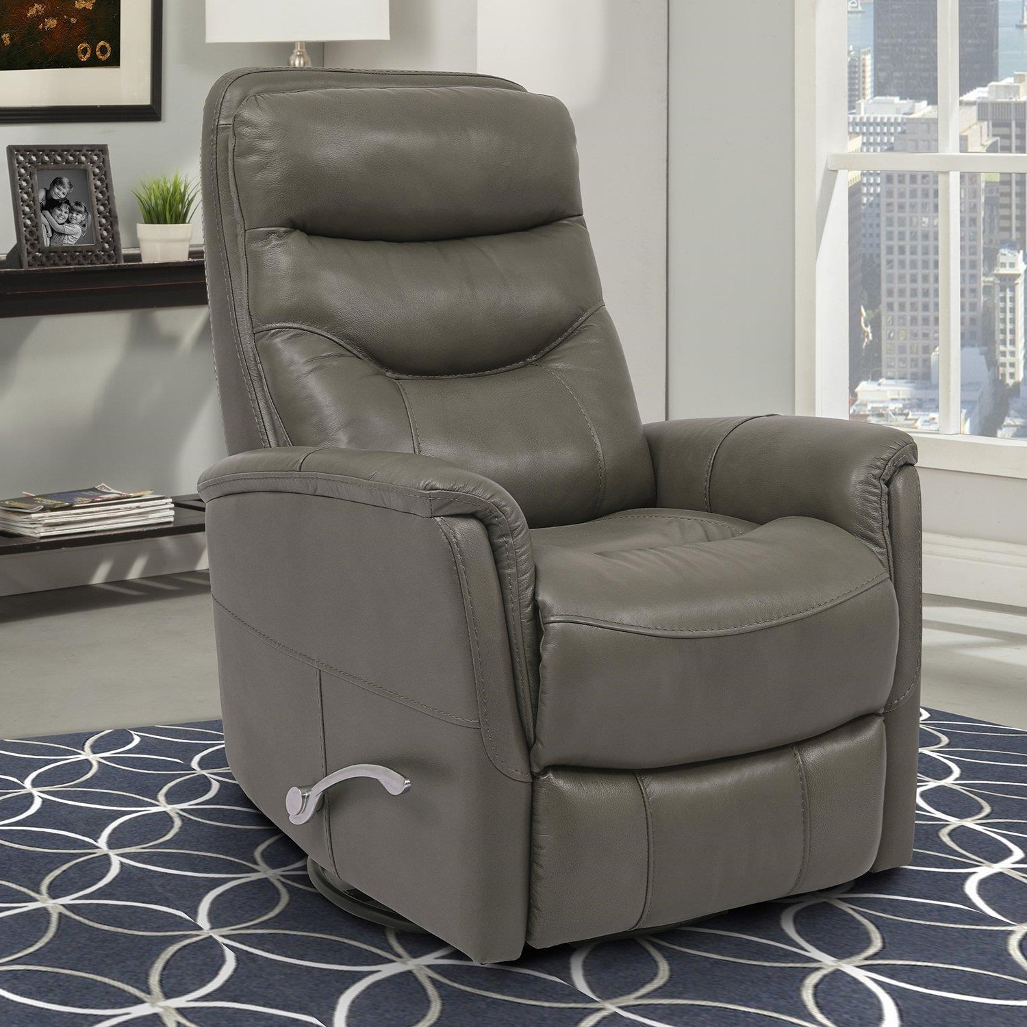 Gemini Gemini Ice Swivel Glider Recliner by Parker House at Johnny Janosik