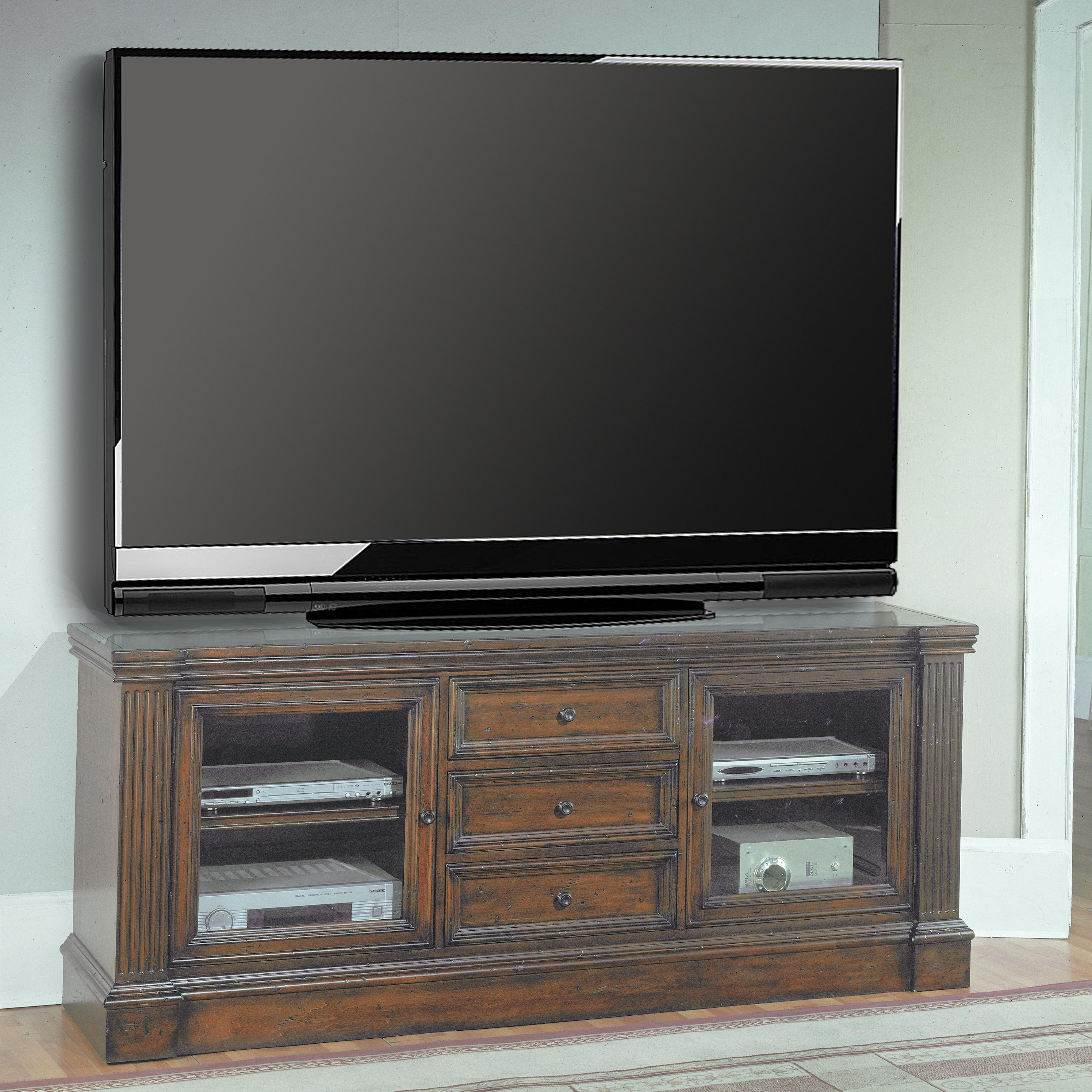 "Parker House Genoa 78"" TV Console - Item Number: GEN 615"
