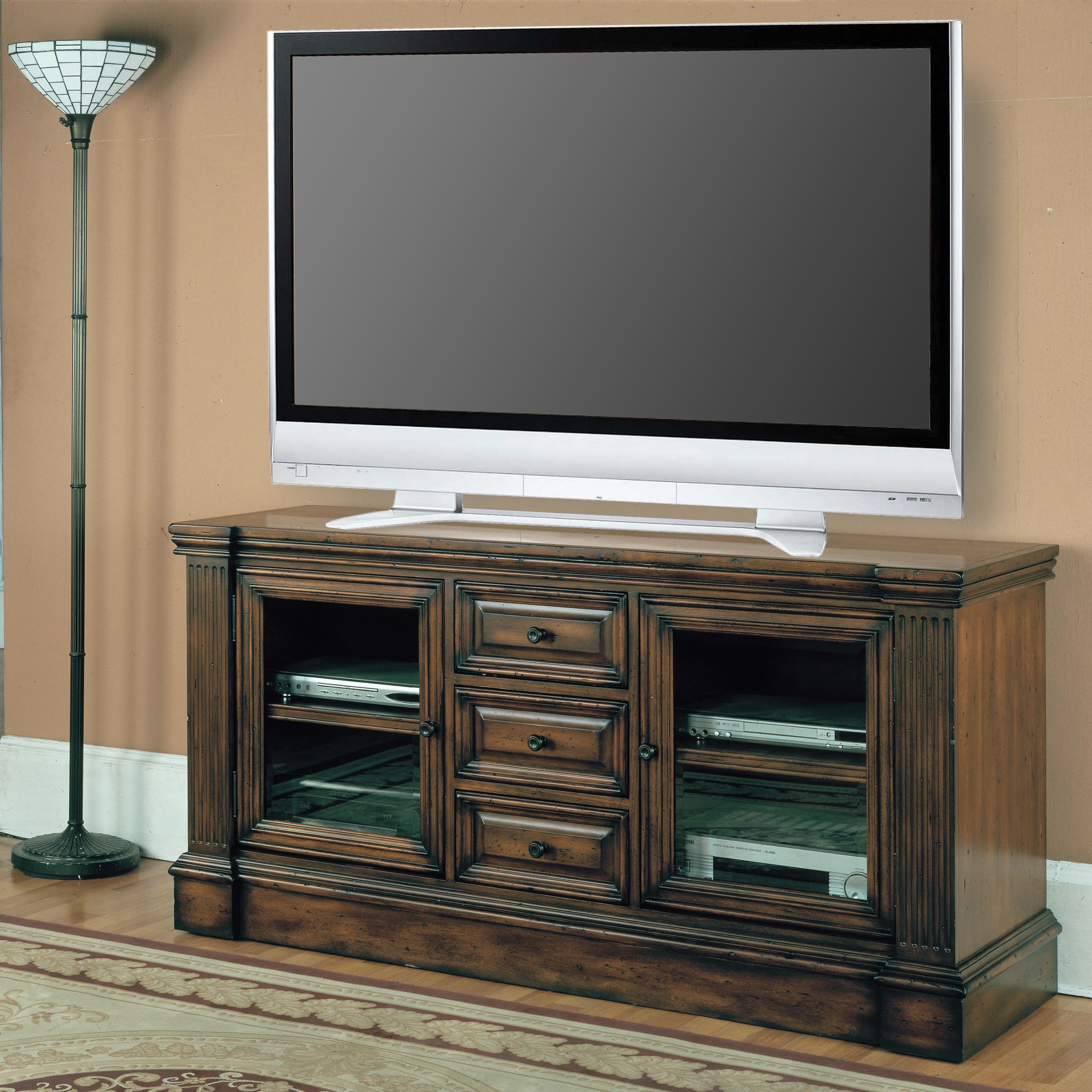 "Parker House Genoa 65"" TV Console - Item Number: GEN605"