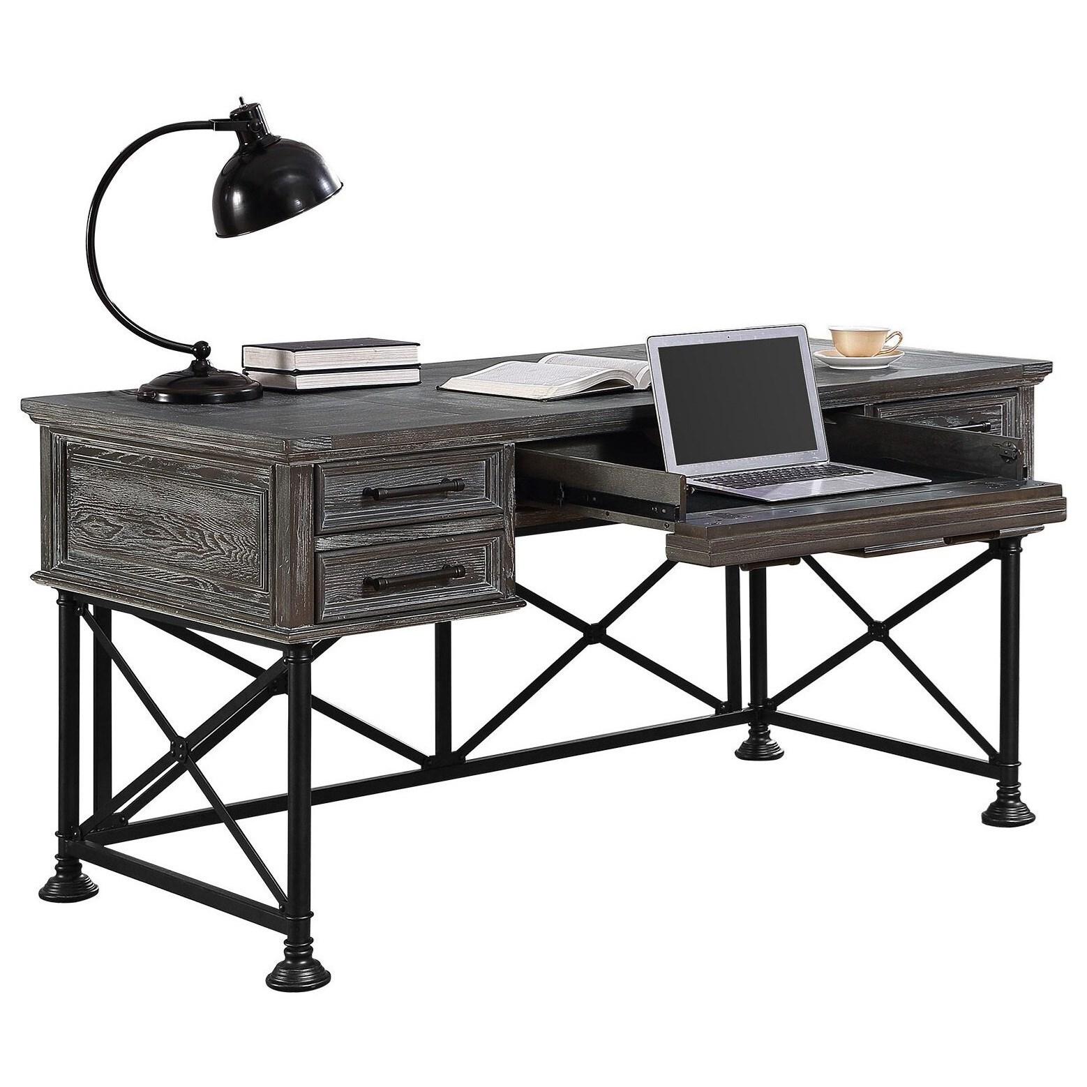 warm desk writing desks donny osmond home johansson grey gray office