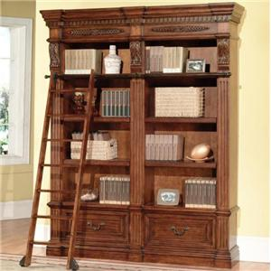 2 Bookcases and Ladder