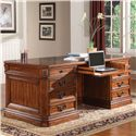 Parker House Granada Traditional Double Pedestal Executive Desk - GGRA9080-3