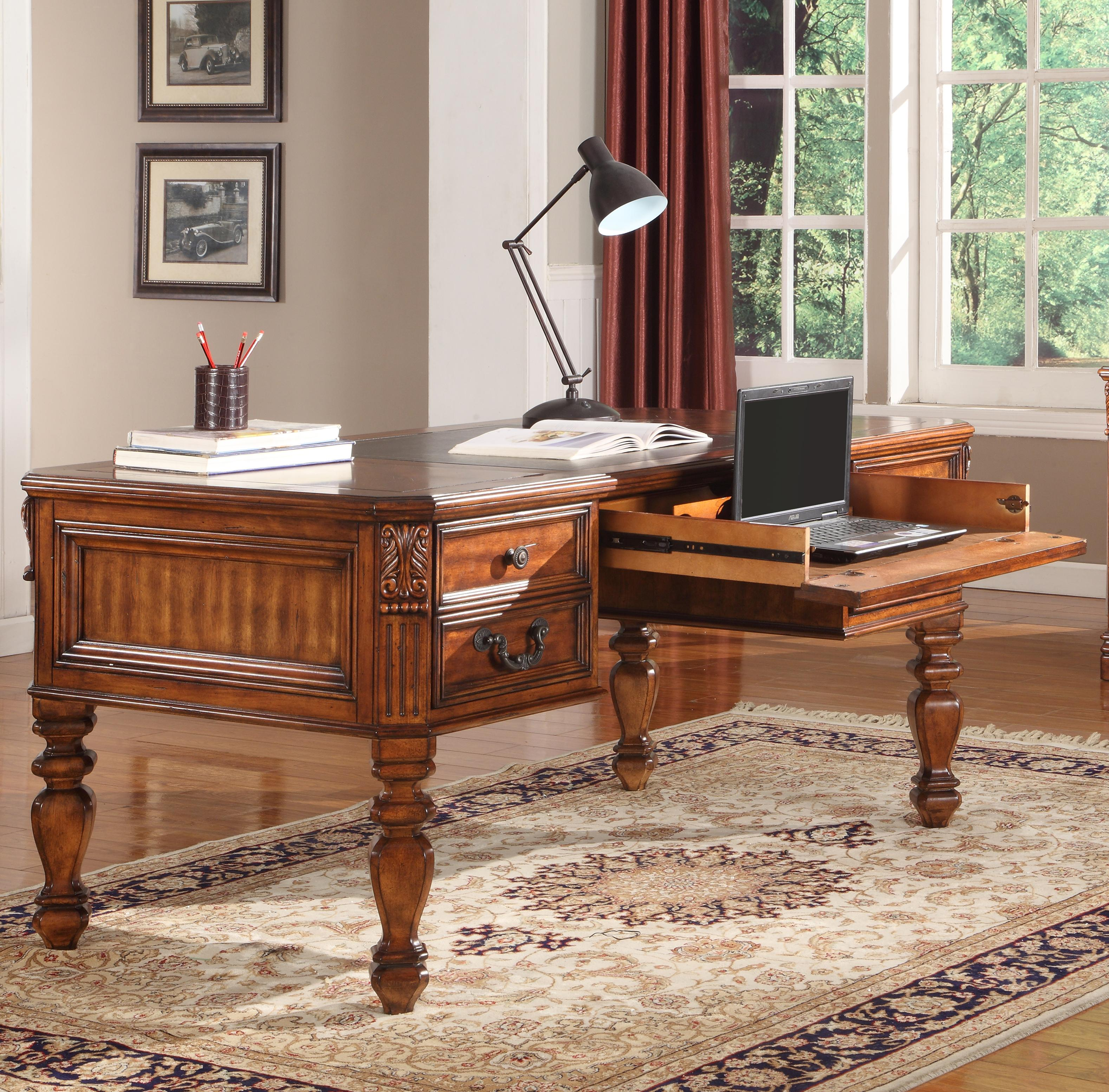 Parker House Granada Writing Desk - Item Number: GGRA9085