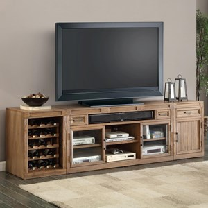Parker House Hickory Creek 3 Piece TV Console Set